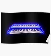 Cosmic Keyboard Poster