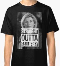 Straight Outta Gallifrey- Whittaker Classic T-Shirt