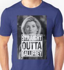 Straight Outta Gallifrey- Whittaker Unisex T-Shirt