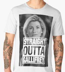 Straight Outta Gallifrey- Whittaker Men's Premium T-Shirt