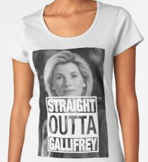 Straight Outta Gallifrey- Whittaker Women's Premium T-Shirt