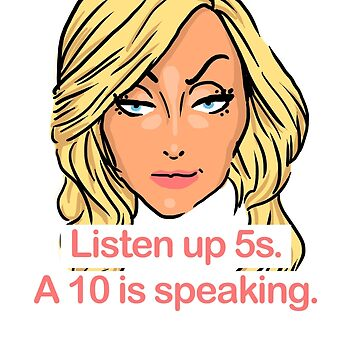 Listen up 5s, a 10 is speaking by SamGAdams