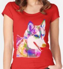 A Colorful Breed Women's Fitted Scoop T-Shirt