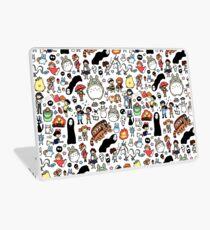 Kawaii Ghibli Doodle Laptop Skin