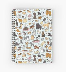 Doggy Doodle Spiral Notebook