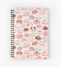 Mmm.. Donuts! Spiral Notebook