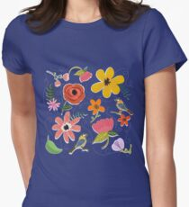 Secret Garden Womens Fitted T-Shirt
