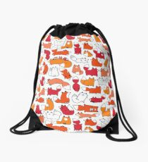 Foxy Foxes Drawstring Bag