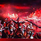China. Xian. Show. Military Scene. by vadim19