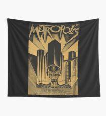 Tela decorativa Metropolis, Fritz Lang, 1926 - cartel de película vintage, b & w