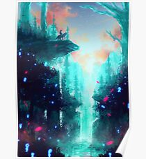 Mononoke Wald Poster