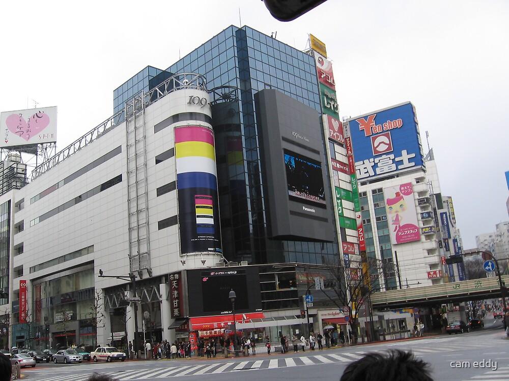 tokyo city by cam eddy