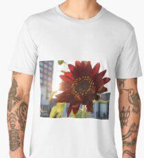 Velvet Queen Sunflower Men's Premium T-Shirt