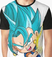 Gogeta Blue God Chibi Graphic T-Shirt