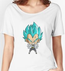 Vegeta God Blue Chibi Women's Relaxed Fit T-Shirt