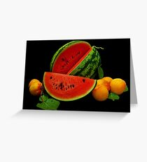 Taste of Summer Greeting Card