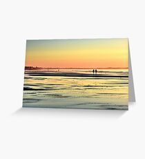 Beach therapy..... Greeting Card