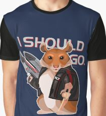 Space Hamster Mass Effect Graphic T-Shirt