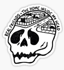 Real Friends The Home Inside My Head Sticker