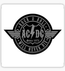 AC/DC Logo Patch Sticker