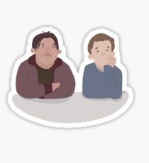 peter & ned Sticker