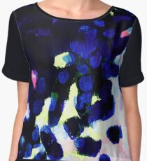 Summer shadows abstract Women's Chiffon Top