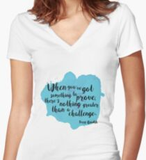 Challenge Women's Fitted V-Neck T-Shirt