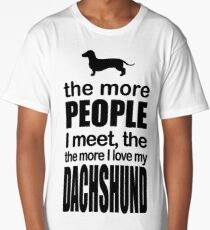 I LOVE MY DACHSHUND Long T-Shirt