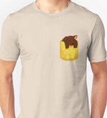 Puppy Pocket Chocolate Lab  T-Shirt