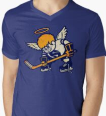 Minnesota Fighting Saints Men's V-Neck T-Shirt