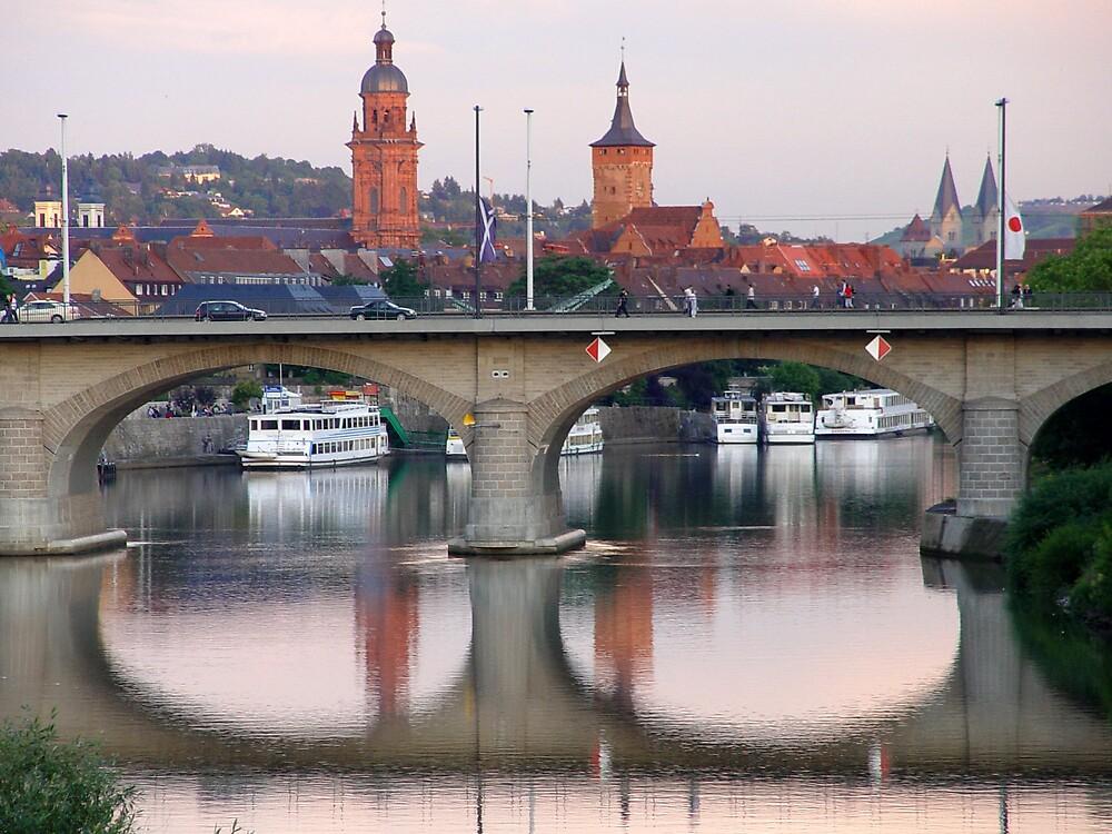 Bridge in Wurtzburg Germany by traveler25