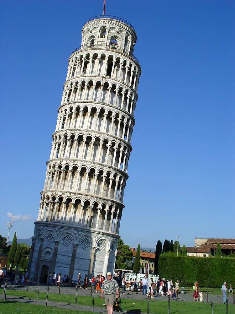 Pisa the Tower - Italy by traveler25