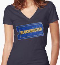 Blockbuster Shirt mit V-Ausschnitt