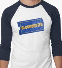 Camiseta ¾ bicolor para hombre Éxito de taquilla