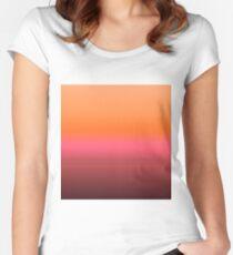 Gradient 8. Women's Fitted Scoop T-Shirt