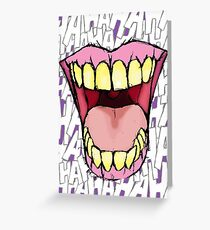 A Killer Joke #3 Greeting Card