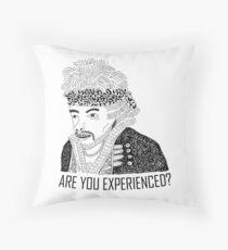 Jimi Hendrix Throw Pillow