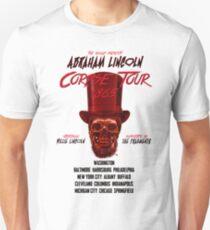 DOLLOP - Abraham Lincoln Corpse Tour Unisex T-Shirt