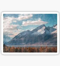 Mountain Landscape Sticker