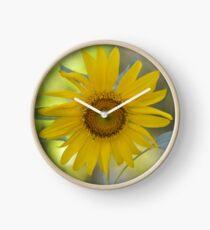 Sunny Sunflower Clock