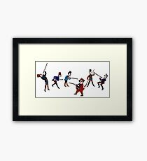 The Shooting Party Framed Print