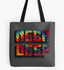 Neck Deep Tie Dye Tote Bag