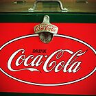 Vintage Coca-Cola Fridge by Cynthia48