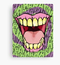 A Killer Joke - spiral Canvas Print