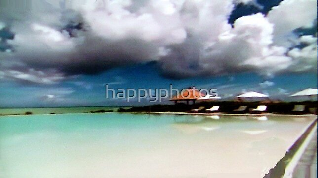 Carribbean clouds by happyphotos