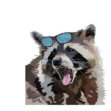 Trashy Raccoon by PrettyPearson