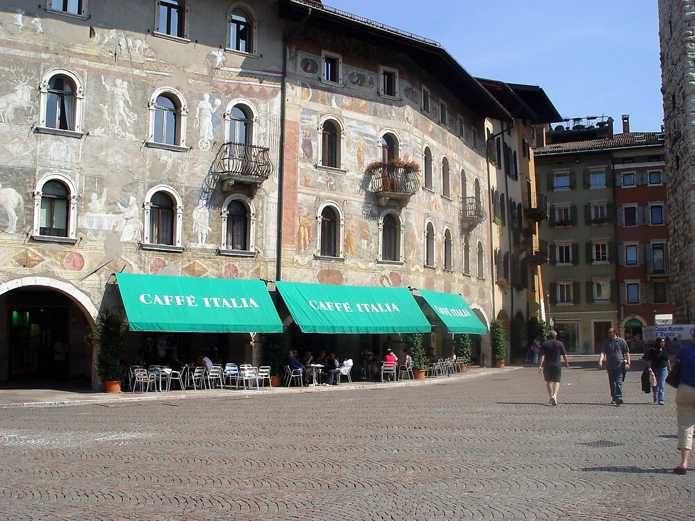 Sidewalk Cafe - Italy by traveler25