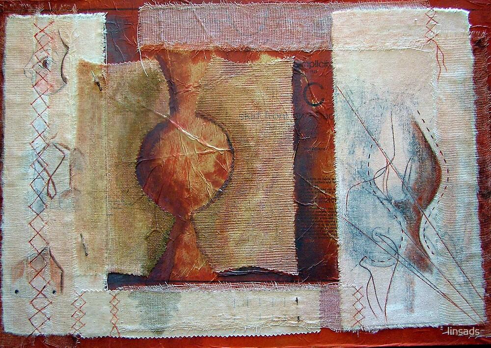 woman's work 2 Original art work by linsads