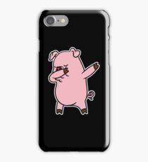 Dabbing Pig Shirt iPhone Case/Skin