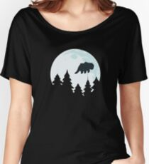 Flying By Moonlight Women's Relaxed Fit T-Shirt